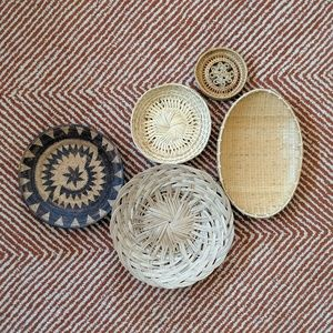 Wall Basket Decor - Set of 5